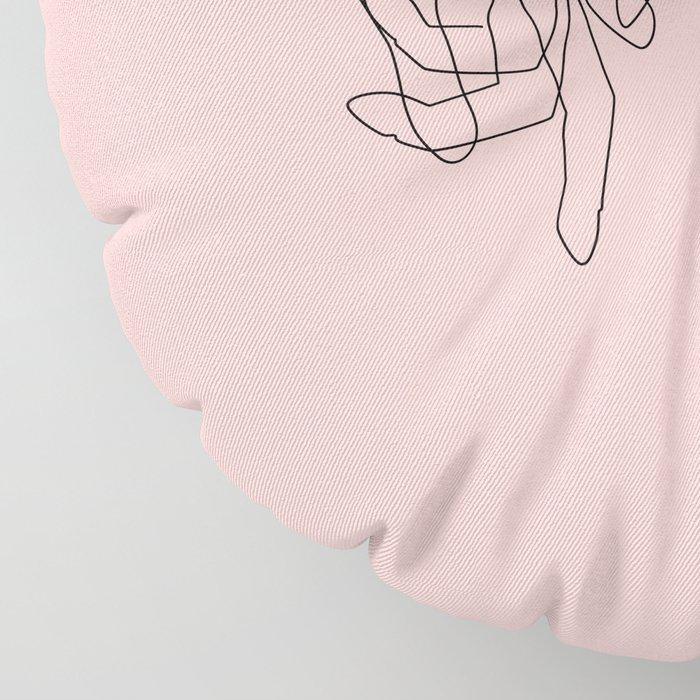 Blush Pinky Floor Pillow