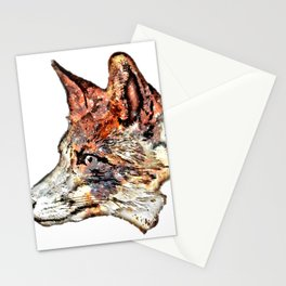 Space Fox no3 Stationery Cards