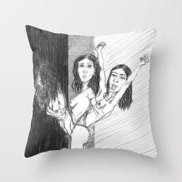 Often,it's a choice Throw Pillow