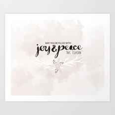 Joy & Peace Art Print