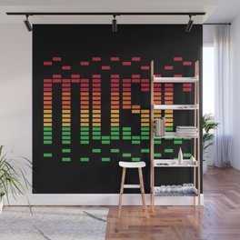 Music Equalizer Wall Mural