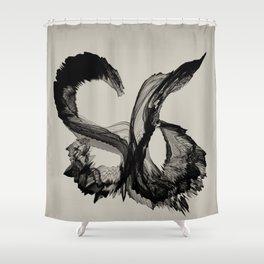 S6 Tee Shower Curtain