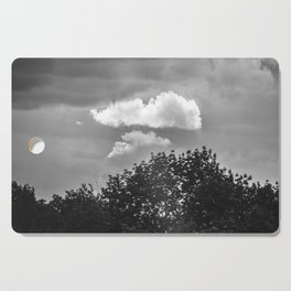 Silver Cloud Cutting Board