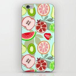 cut fruit iPhone Skin