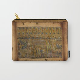 Ancient Egyptian Funerary Scroll pre 944 BC Carry-All Pouch