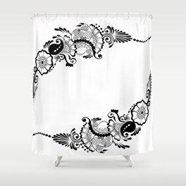 Mehindi One Shower Curtain