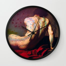 Patroclus and the Squid Wall Clock