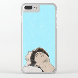Call Me By Your Name - Watercolor Clear iPhone Case