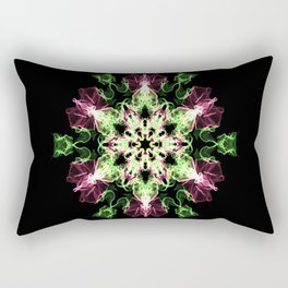 Watermelon Snowflake Rectangular Pillow