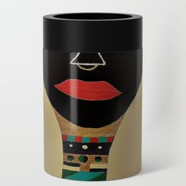 Ebony and Ivory Crown Can Cooler
