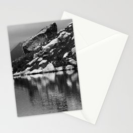 lake in mountains Stationery Cards