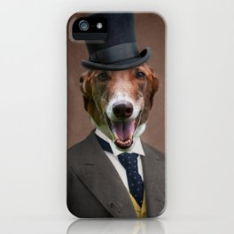 Happy Benny iPhone Case