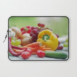 Fruits and Vegetables Variety in the kitchen Laptop Sleeve