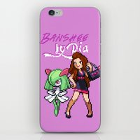 lydia martin iPhone & iPod Skins featuring PokeWolf: Lydia Martin by Trickwolves