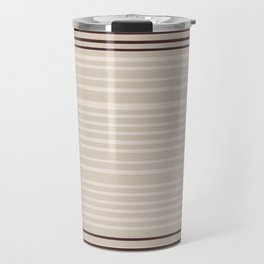 Bauhaus Stripe in Red Multi Travel Mug