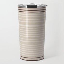 Bauhaus Stripe in Red Multi Travel Mug