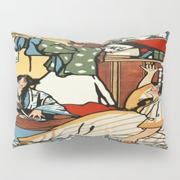 Vintage poster - Wee Sma Hours Pillow Sham
