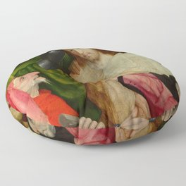 """Hieronymus Bosch """"Christ Mocked (The Crowning with Thorns)"""" Floor Pillow"""