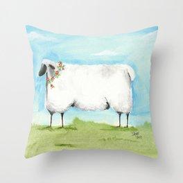 Don't be Sheepish! Throw Pillow