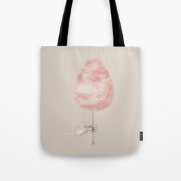 Cotton candy with star sprinkles Tote Bag