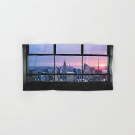 New York City Skyline Views Hand & Bath Towel