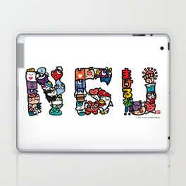 NGU / Never Give Up Laptop & iPad Skin