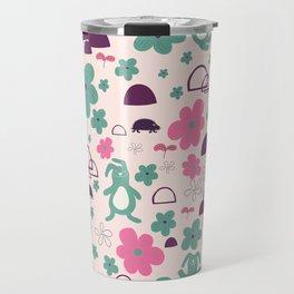 The safety blanket - Fabric pattern Travel Mug