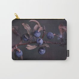 Purple Autumn Berries close up Carry-All Pouch