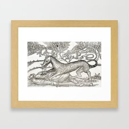 Beast of Cinglais 1632 Framed Art Print
