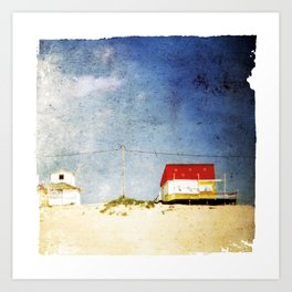 cottages Art Print