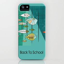 Back To School iPhone Case