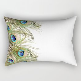Peacock feather Rectangular Pillow