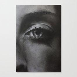 1: Rhinoceros Women Series Canvas Print