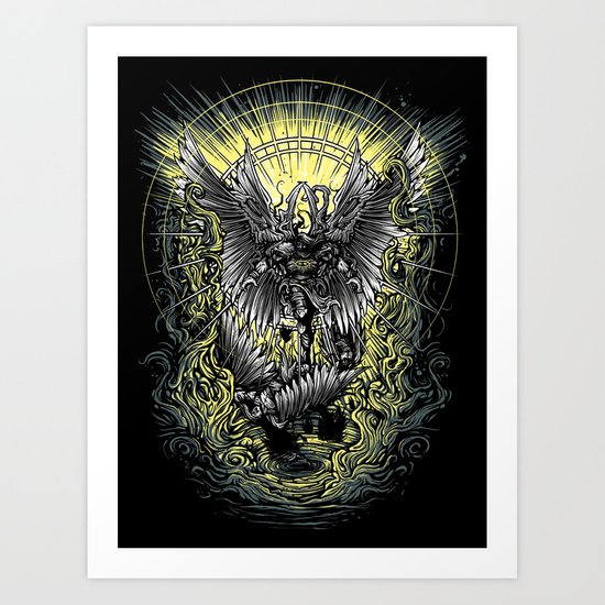 Paradise Lost - milton Art Print
