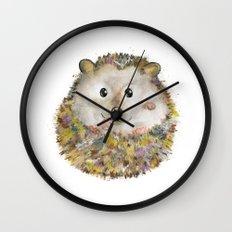 Little Hedgehog Wall Clock