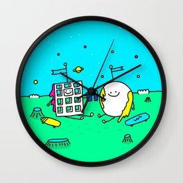 Waffle & Pancake Friends Wall Clock