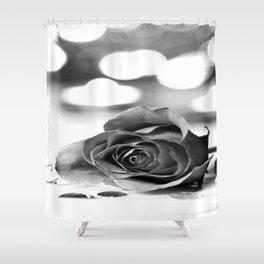 Broken Rose Shower Curtain