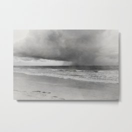 Photo 37 sea ocean beach Metal Print