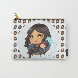 Sunaya Reading Chibi Carry-All Pouch
