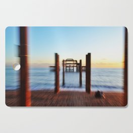 Zooming in on the West Pier Cutting Board