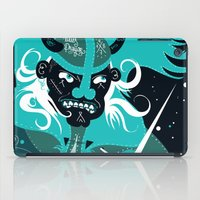 patrick iPad Cases featuring Angry Patrick by Dr ponce