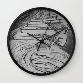 Molten Hour Wall Clock