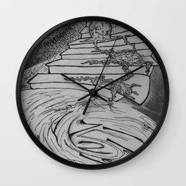 Molten Hour Wall Clock