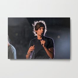 Louis Tomlinson | One Direction Metal Print