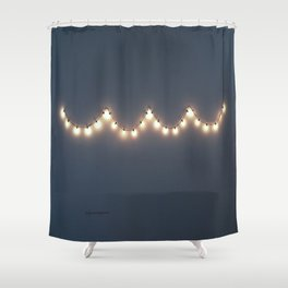 Hangin' lights Shower Curtain