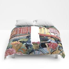 letter D dutch style Comforters