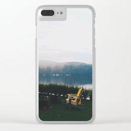 Muskoka before Dusk Clear iPhone Case