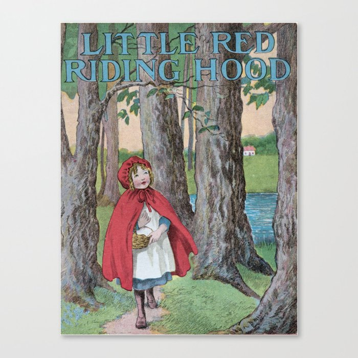 Little Red Riding Hood Fairytale Classic Vintage Book Cover