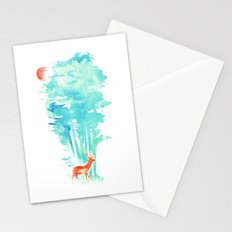 Summer in the Woods Stationery Cards