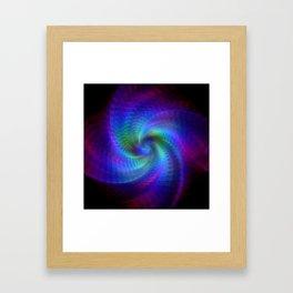 Fractal art Framed Art Print